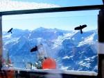"""Blick aus dem """"Vogelkäfig"""" vulgo Gipfelstadl"""