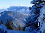 Ausblick zum Schneeberg