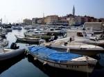 Im Hafen von Rovinj