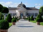 Barocker Pavillon im Melker Stiftsgarten