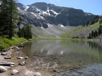 Blick vom Karwassersee zum Marchkareck