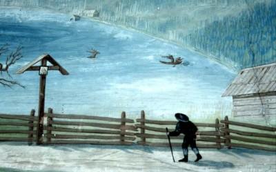 Hirschjagd im Erlaufsee