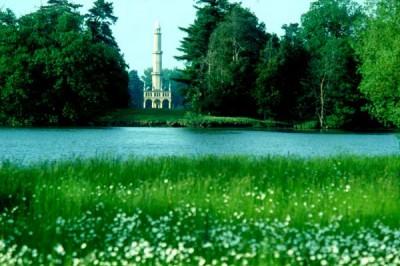 Das Minarett im Schlosspark Eisgrub