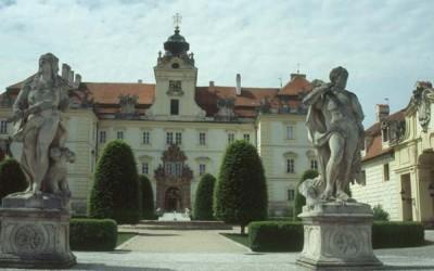 Das Barockschloss Feldsberg / Valtice