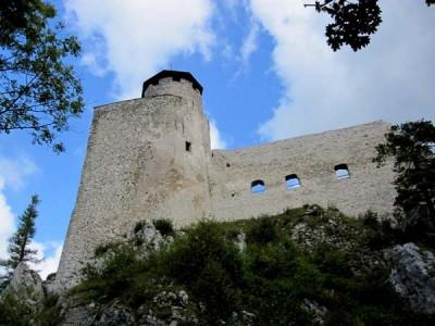 Araburg, die höchste Burgruine Niederösterreichs