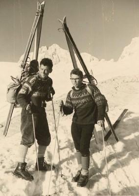 Vier Jahre später - Pfingsttour am Dachstein mit Pistenschi