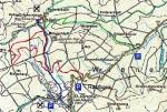 Karte Schöpfl mit BC-Tour und Rodelbahn (grün)
