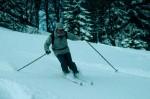 Alpinschwung auf Backcountry