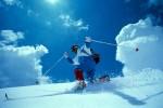 Telemark - idealer Bogen mit Backcountry-Ski