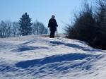 Noch einmal eine Schneewanderung