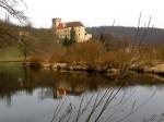 Kampstau beim Schloss Buchberg