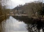 Kamp in Gars mit Gertrudenkirche und Babenbergerburg von Thunau