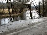 Eisplatten am Kamptalweg