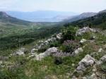 Ausblick gegem Baska und Velebit