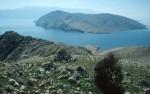 Insel Prvic und Kap Skuljica vom Bag