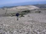 Borasturm am Gipfelhang