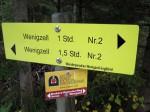 """Wegweiser """"Auf den Spuren der Pilger"""""""