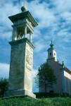 Pilgersäule und Ursprungkapelle der hl. Anna