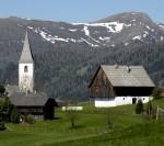 St. Lorenzen am Speikkofel mit Moschelitzen
