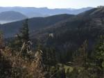 Ausblick vom Südkamm-Aufstieg