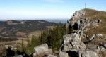 Gipfel mit Ebenwald und Kiensteiner Öde