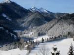 Winter in Mariazell am 9. Dezember 2011 mit Zellerhüten