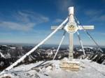 AB Gipfelkreuz mit Eisenstein