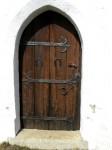 Tür mit türkischen Hufeisen von 1532