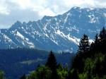 BB Rauher Kamm und Ötscher-Nordwand vom Talbauern