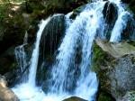 AB Der sagenumwobene, vom Wasser überflossene Stierkopf im unteren Trefflingfall