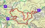 Karte Hochbärneck vom Trefflingtal WEB