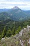 1350 m Höhe vom Erlaufboden bis zum Ötschergipfel