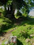 Aufstiegsweg zum Stubennock