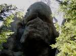 BB Der Totenkopf blickt in den Nordwald, mystisch gehört sich das so...