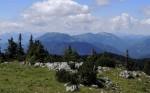 Ausblick Gamsstein und Stumpfmauer