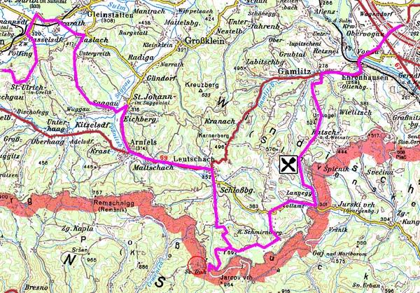 Südsteirische Weinstraße Karte