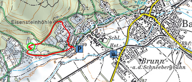 web Karte Fischau-Brunn