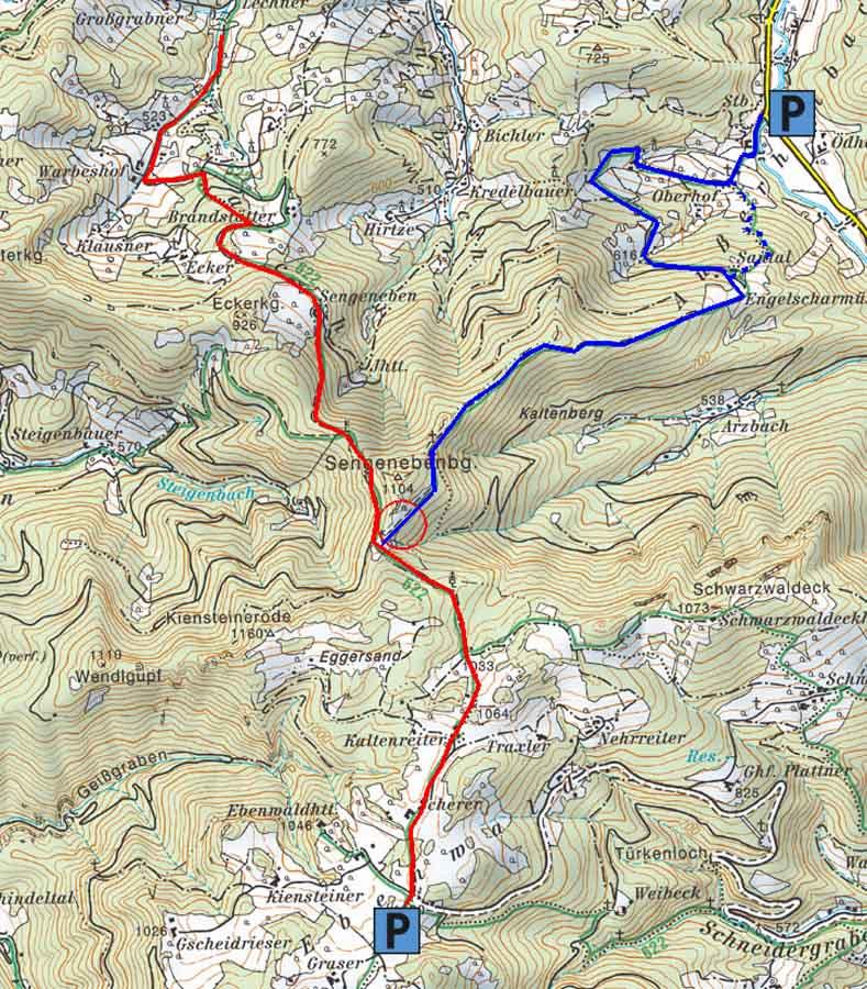web Karte Hahnwiese