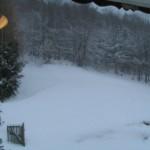 Es schneit und weht!