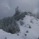 Rückblick zum Kirchwaldberg
