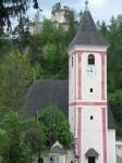 Burgruine und Kirche Klamm