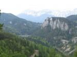 Polleroswand und Viadukt