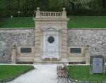 Das Ghega-Denkmal am Bahnhof Semmering