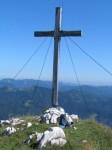 Das Gipfelkreuz am Haselspitz