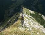 Am Weg zum Gipfel des Wildkamms