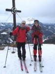 BB und ich am Hochstadlberg (2. Tag)