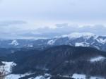 Schneeberg und links hinten die Rax