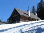 Die Rosentalhütte, kurz vor der Turnauer Alm