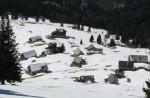 Das Alm-Dorf, vom Aufstieg zum Gipfel aus