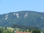 Ostteil der Hohen Wand mit dem Herrgottschnitzerhaus